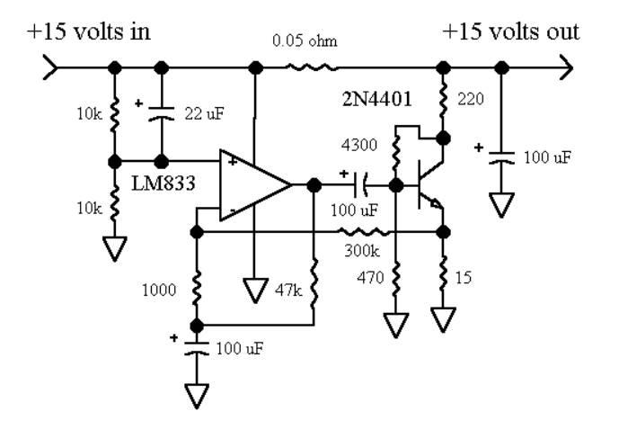 how to measure power supply noisefloor